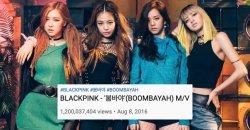 BOOMBAYAH กลายเป็นเพลงเดบิวท์ K-POP เพลงแรก ที่มียอดวิวทะลุ 1.2 พันล้าน