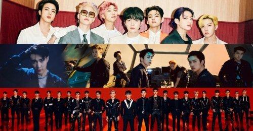 TOP 30 อันดับ วงบอยกรุ๊ป K-POP ยอดนิยมประจำเดือนมิถุนายน ปี 2021