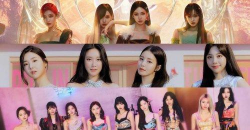 TOP 30 อันดับ วงเกิร์ลกรุ๊ป K-POP ยอดนิยมประจำเดือนมิถุนายน ปี 2021