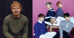 ยืนยันแล้ว Ed Sheeran จะมีส่วนร่วม ในเพลงใหม่ของ BTS