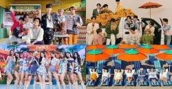 BTS, SEVENTEEN, NCT DREAM และ TWICE ครองตำแหน่งสูงสุด ในชาร์ตอัลบั้มรายสัปดาห์ ของ Oricon