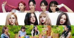 จัดอันดับ เกิร์ลกรุ๊ป K-Pop ยอดนิยม ประจำเดือนสิงหาคม