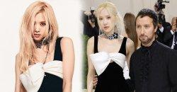 Rosé BLACKPINK เปิดตัว ในงาน MET Gala ครั้งแรกของเธอ ด้วยเดรสสีดำ