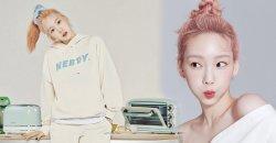 Taeyeon เป็นพรีเซ็นเตอร์คนใหม่ ของ Nerdy