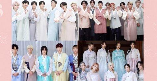 เหล่าศิลปิน K-pop แชร์คำอวยพร ช่วงเทศกาลชูซอกปี 2021