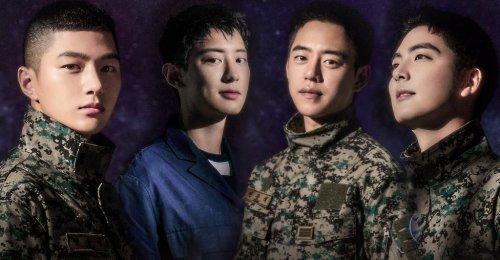 Chanyeol EXO Kim Myung Soo INFINITE และ Daehyun B.A.P จะแสดงละครเพลง